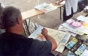 le peintre Patrice